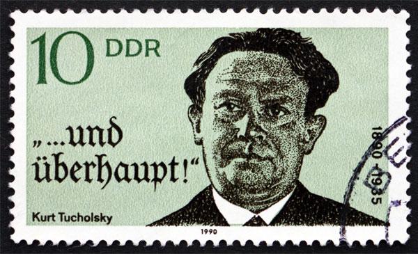 """""""Wir haben das Recht, Deutschland zu hassen, weil wir es lieben."""" Ein Abend zur Erinnerung an Kurt Tucholsky"""